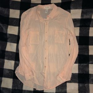 Ambiance Apparel Button Down Blouse